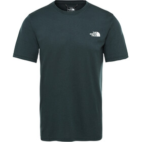 The North Face Reaxion Amp Crew T-Shirt Men ponderosa green heather